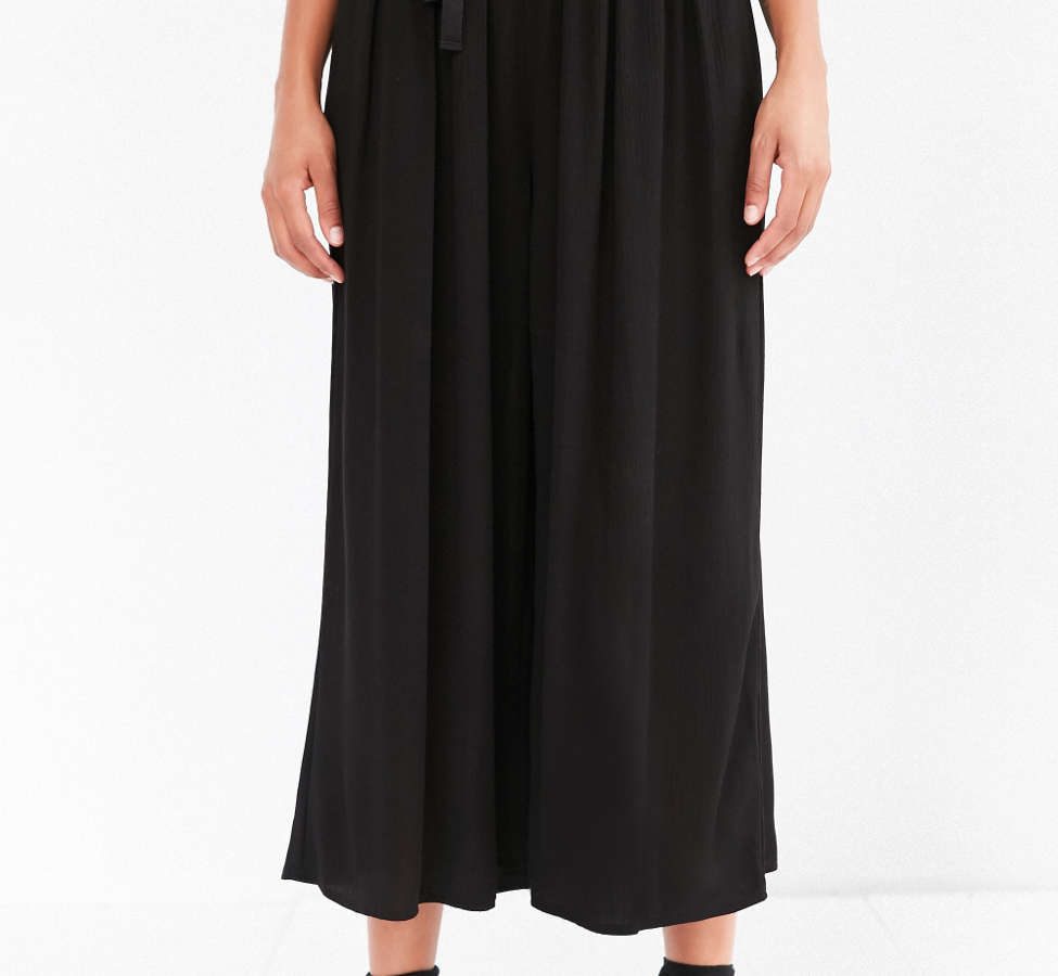Slide View: 4: Staring At Stars Crinkle Culotte Pant