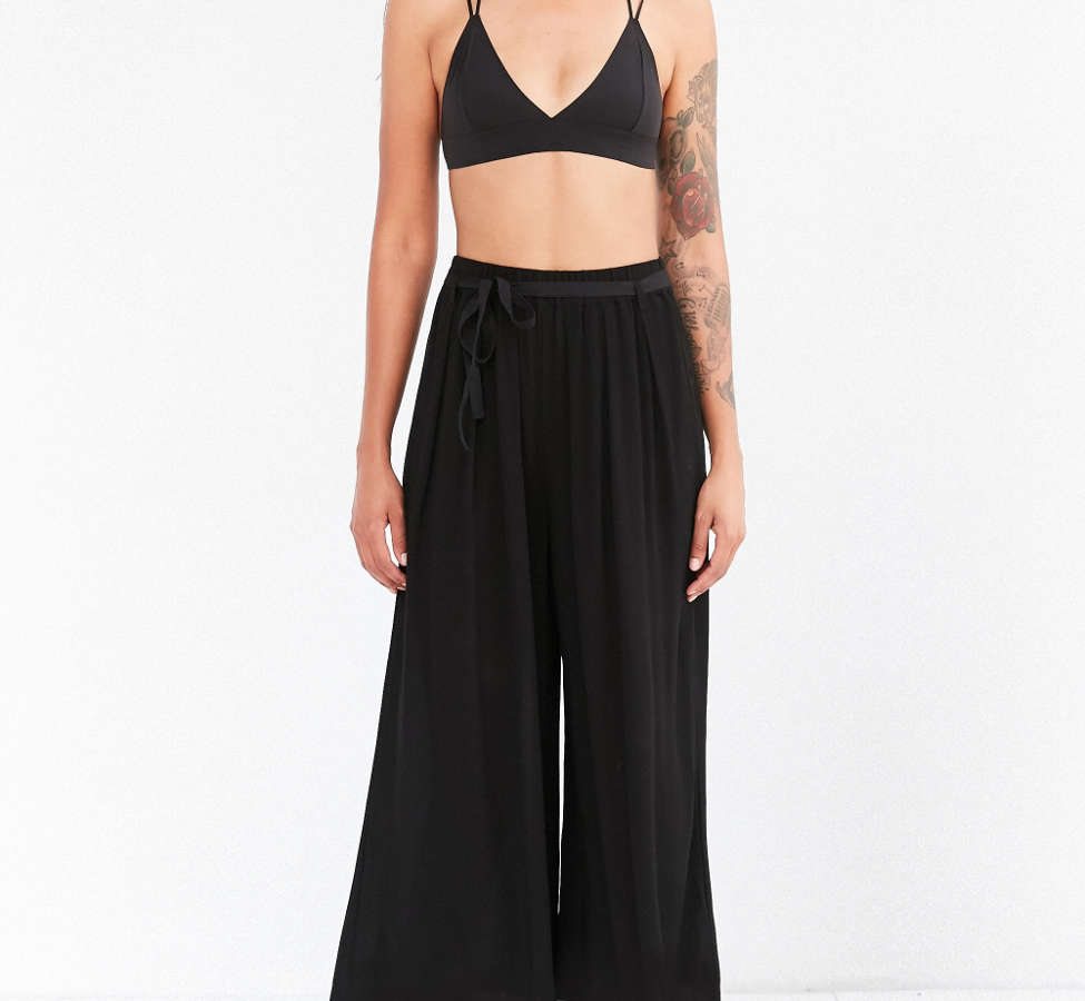 Slide View: 5: Staring At Stars Crinkle Culotte Pant