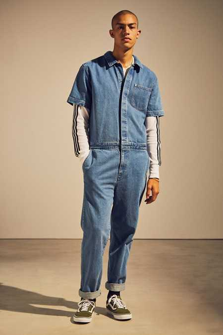 BDG Stonewash Denim Coverall