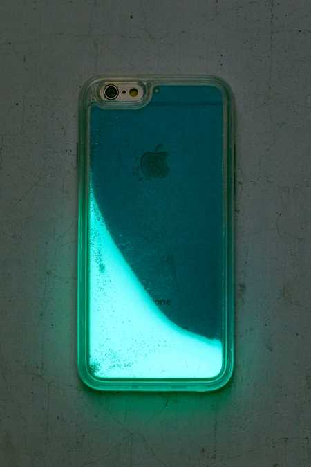 Glitter + Glow Blue Glitter iPhone 6/6s Case
