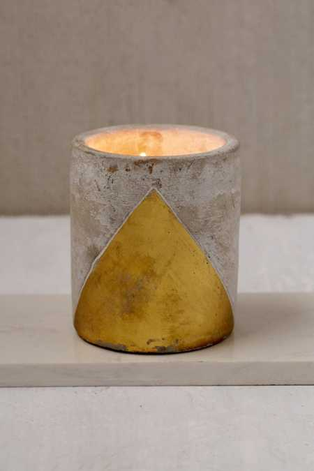 Large Concrete Candle