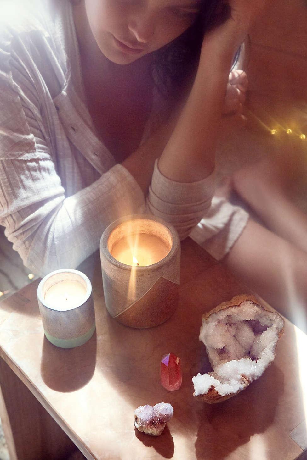 Large Concrete Candle