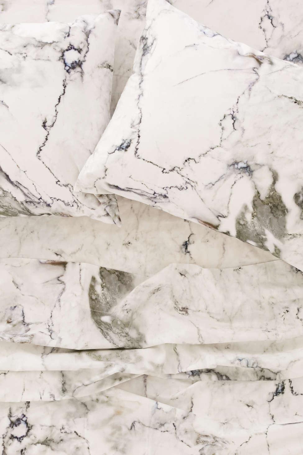 Slide View: 2: Marble Sheet Set