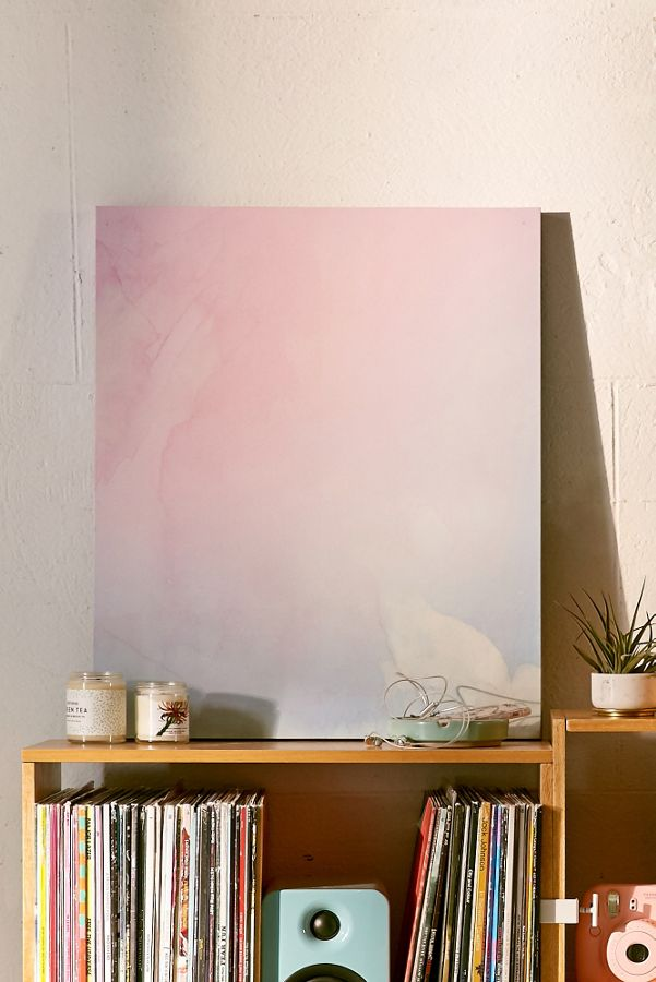 Emanuela Carratoni For Deny Serenity And Rose Canvas Wall Art ...