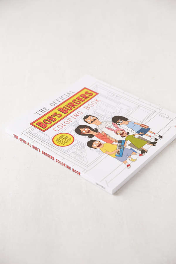 Slide View 3 The Official Bobs Burgers Coloring Book By Loren Bouchard