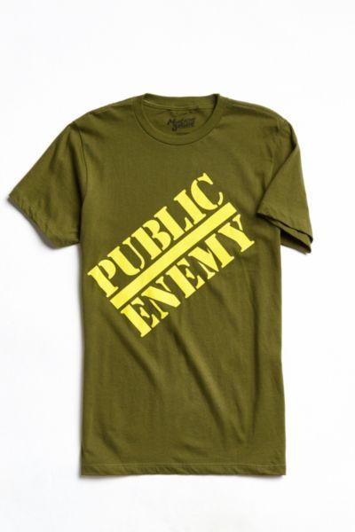 Public Enemy Logo Tee