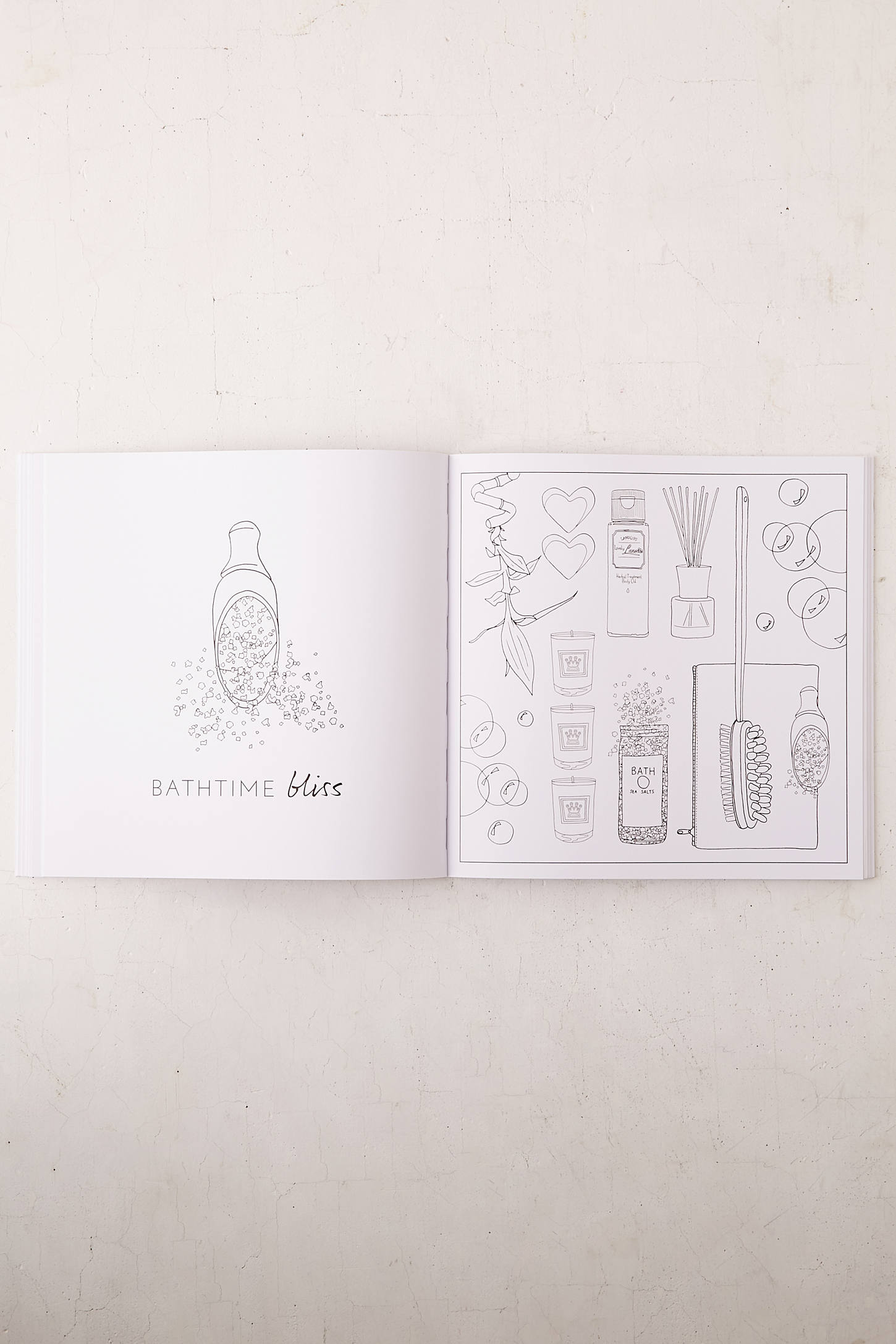Slide View 6 OOTD Fashion Flat Lay Coloring Book By Laura Hickman