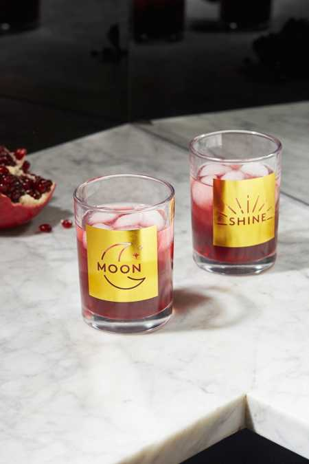 Moon Shine Glass - Set Of 2
