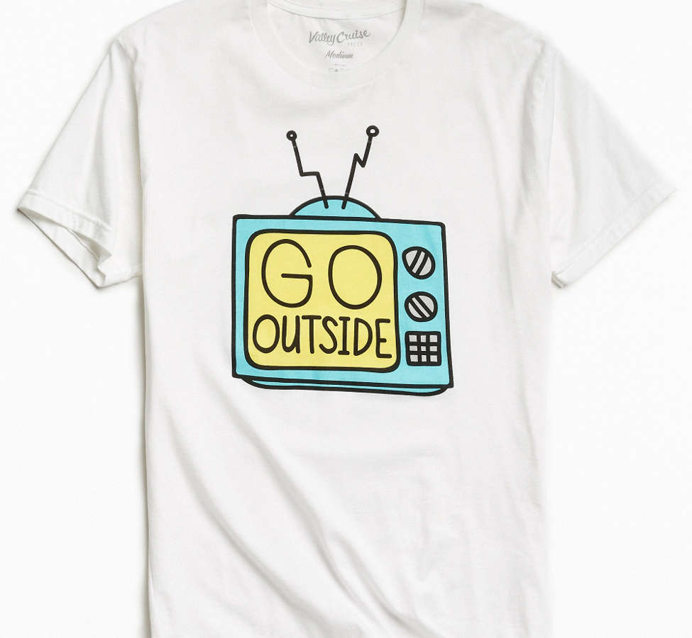 Slide View: 1: Valley Cruise Press Go Outside Tee