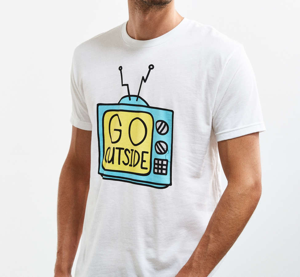 Slide View: 2: Valley Cruise Press Go Outside Tee