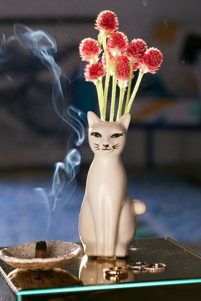 Kitty Bud Vase Urban Outfitters