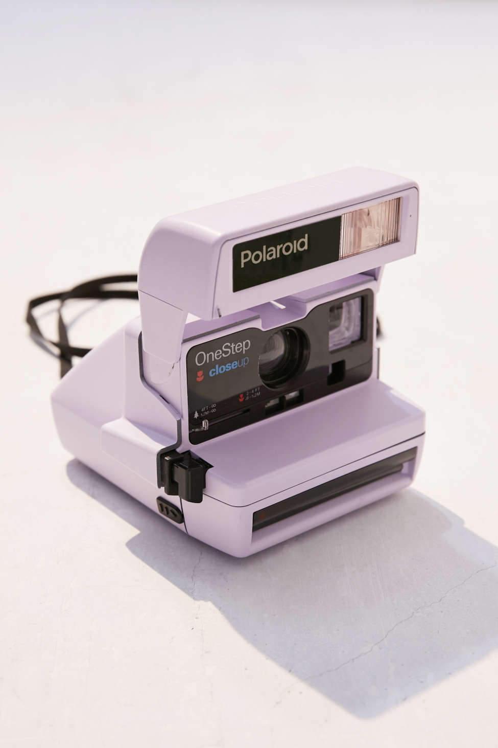 Impossible X Uo Refurbished Lavender Close Up Polaroid 600