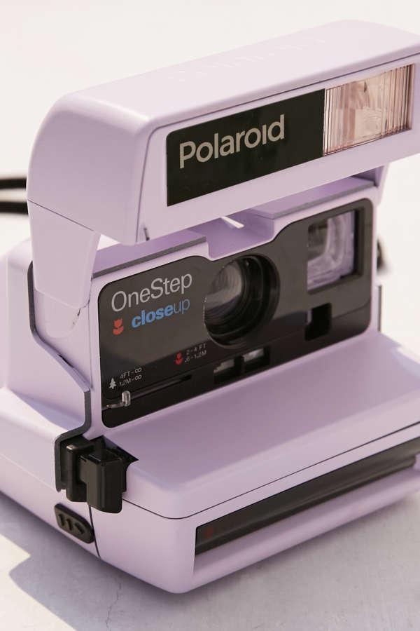 Impossible X UO Refurbished Lavender Close-Up Polaroid 600 Instant ...