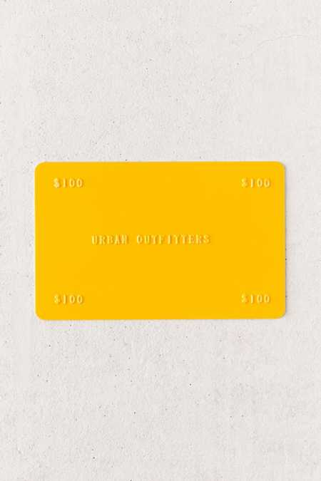 UO Gift Card - $100