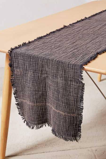 Crinkle Gauze Table Runner