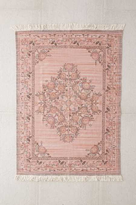 Stina Floral Space Dyed Printed Rug