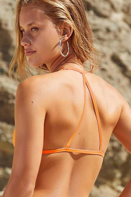 Slide View: 4: Out From Under Triangle Racerback Bikini Top