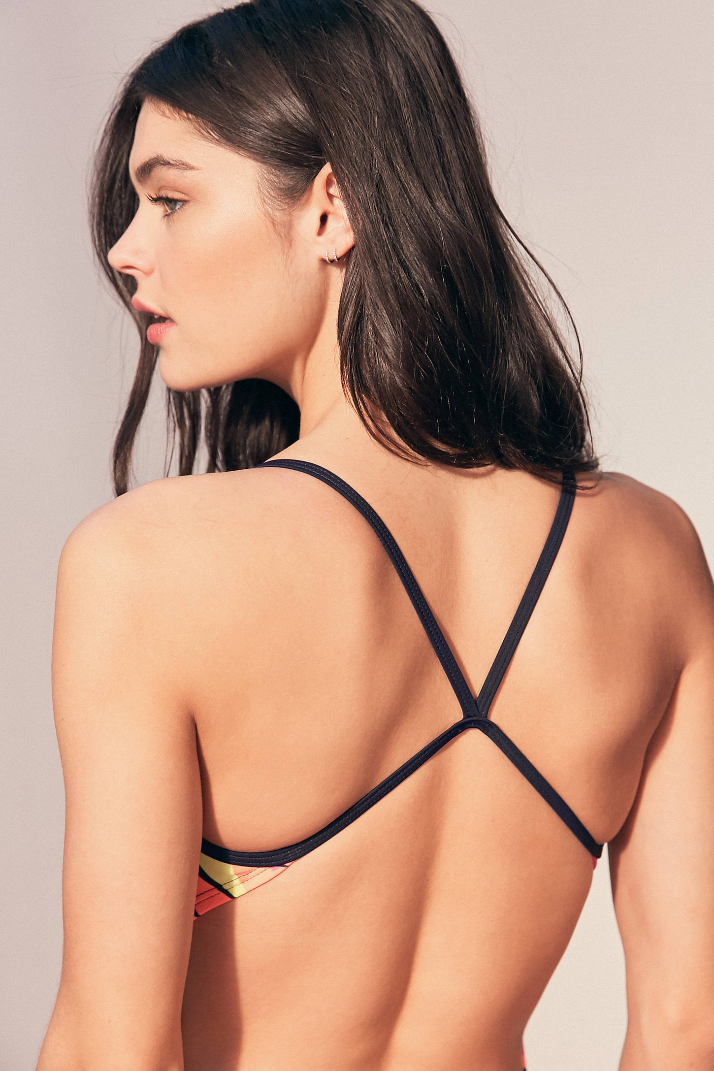 Slide View: 5: Nike Retro Poly Core One-Piece Swimsuit