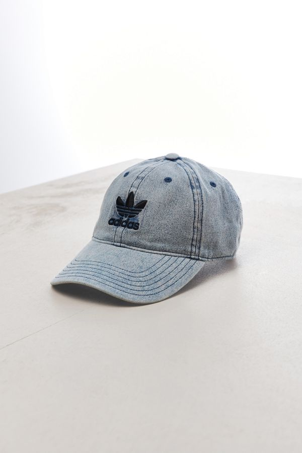 adidas Relaxed Denim Baseball Hat  82a9cb06365