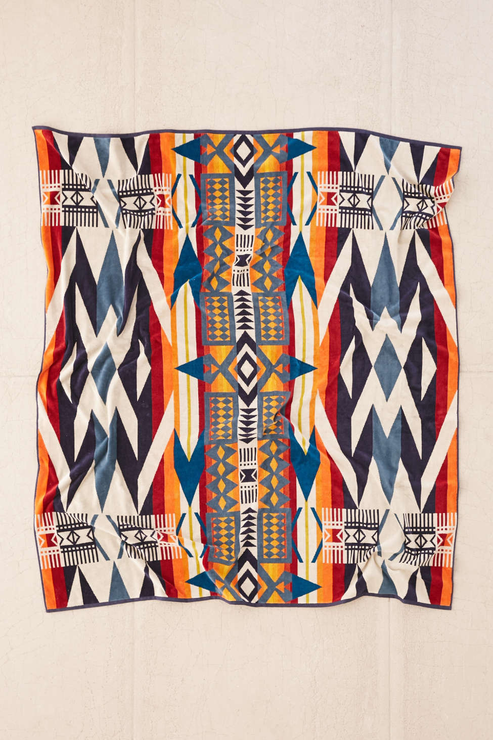 Slide View: 1: Pendleton Fire Legend Towel For Two Oversized Towel