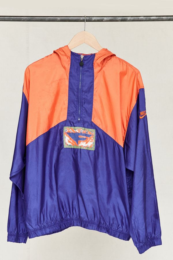 Vintage Nike Orange Purple Windbreaker Jacket 422b0395c