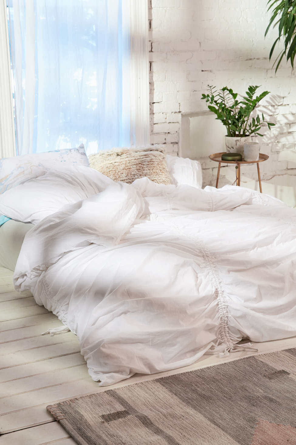 Cinched Duvet Cover | Urban Outfitters
