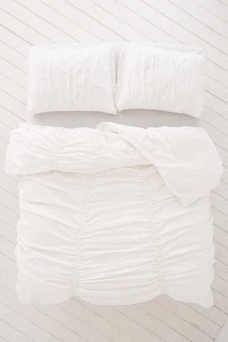Slide View: 2: Cinched Duvet Cover