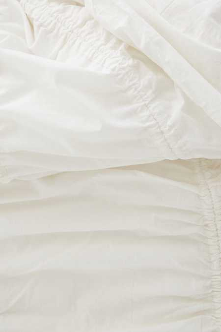 Slide View: 5: Cinched Duvet Cover