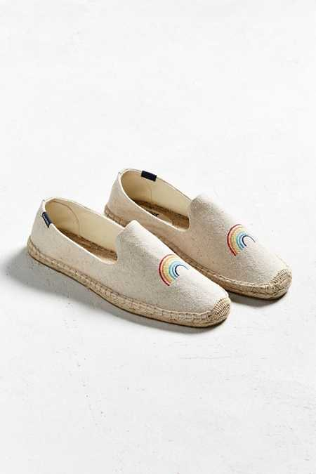 Soludos X ASHKAHN Mens Rainbow Smoking Slipper