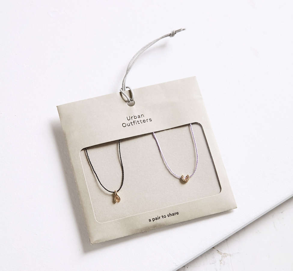 Slide View: 3: Icon Friendship Necklace Set