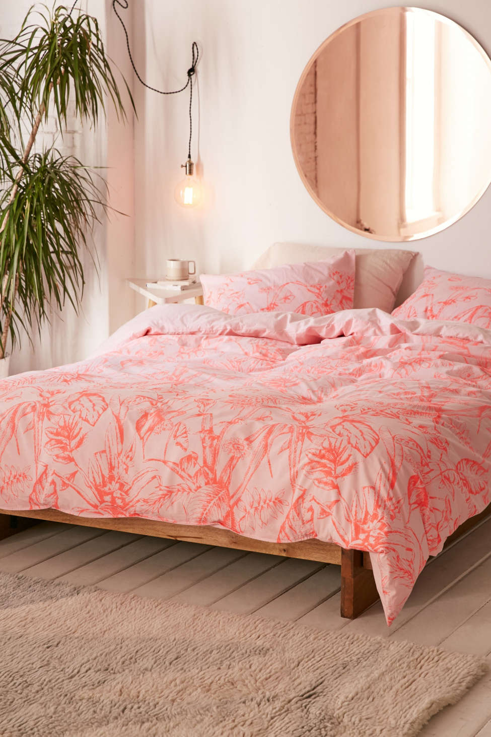 Slide View: 2: Forest Toile Duvet Cover