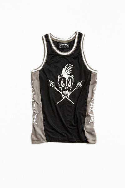 Metallica Basketball Jersey