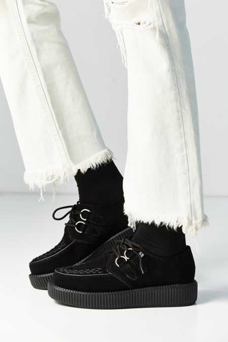 T.U.K. Suede Low Viva Creeper Shoe