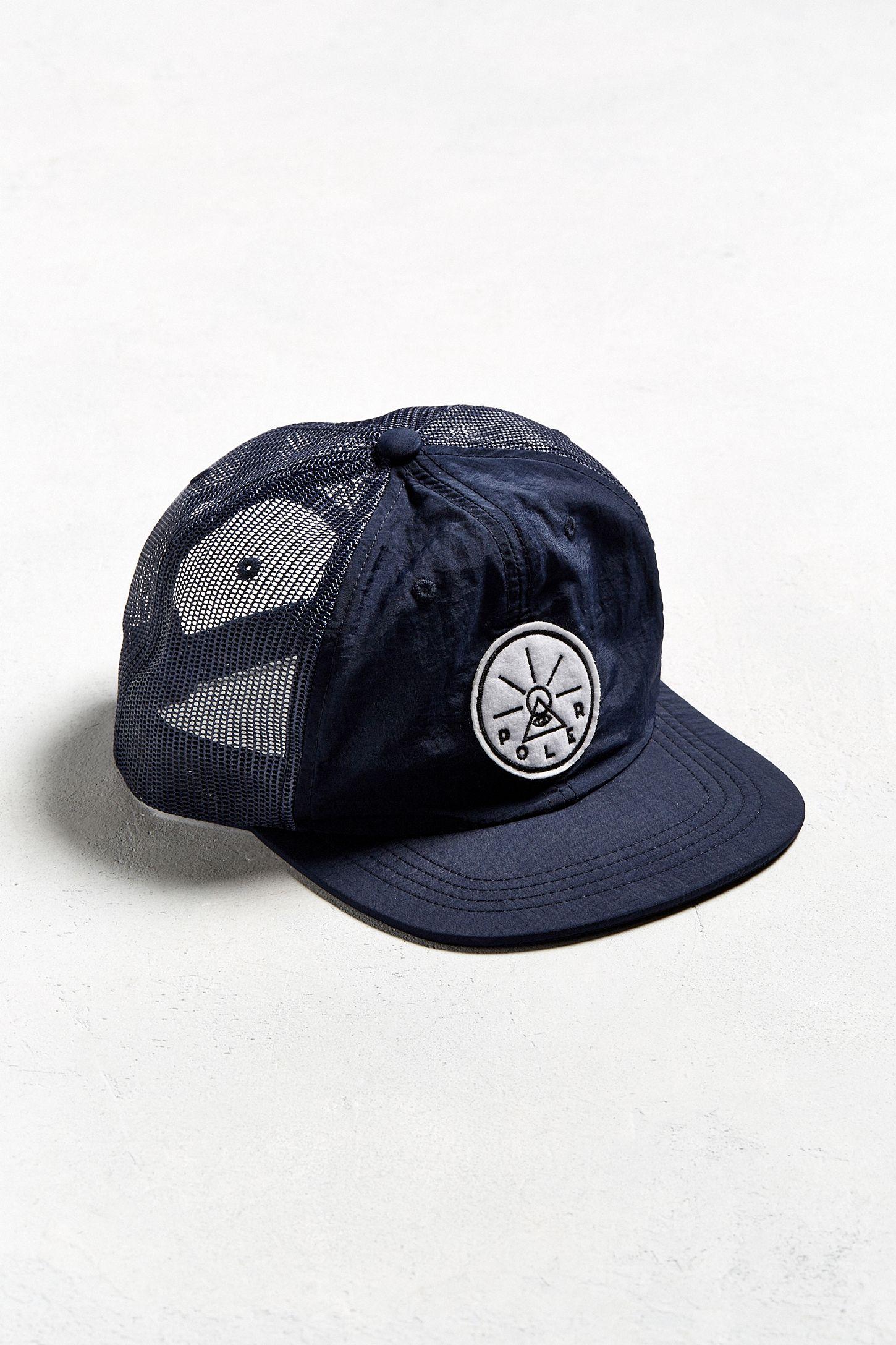 Poler Crinkle Nylon Trucker Hat  6a8788314fd