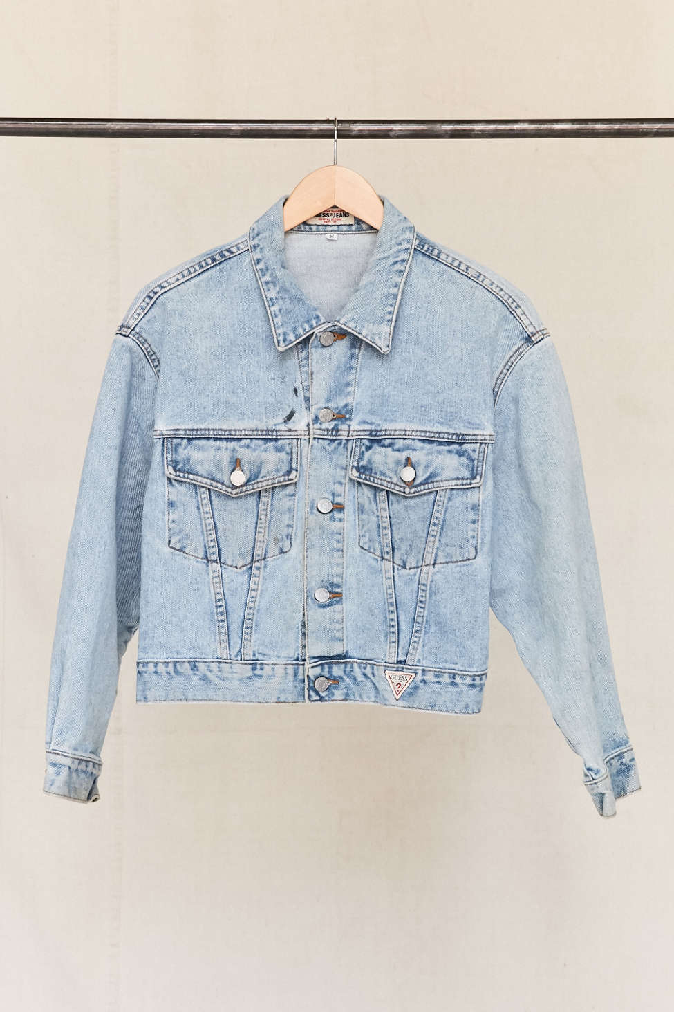 Vintage Guess 90s Denim Jacket Urban Outfitters