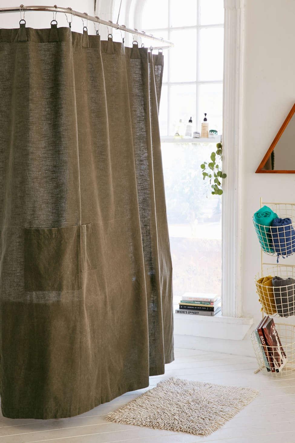 Slide View: 1: Surplus Shower Curtain