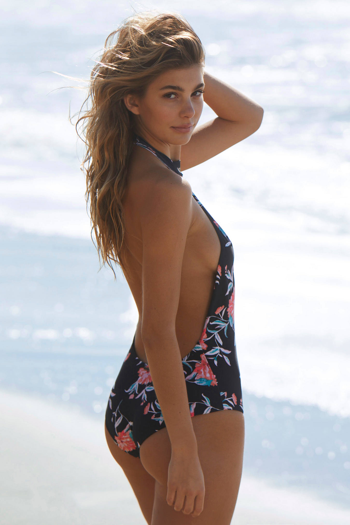 Slide View: 6: Billabong X UO Wild Rose One-Piece Swimsuit