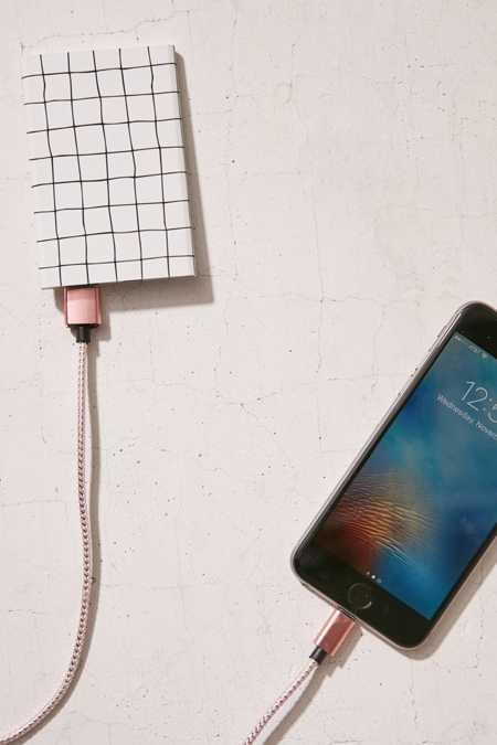 Slim Grid Portable Power Charger