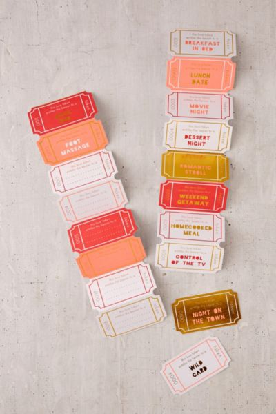 Meri Meri Paper Love Tokens - Multi One Size at Urban Outfitters