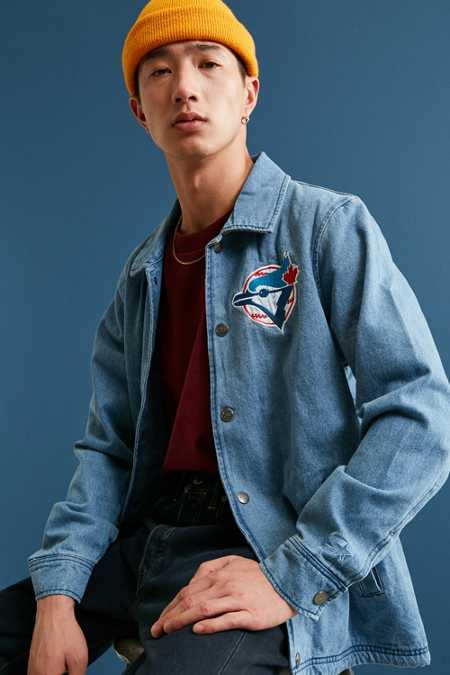 Starter X UO MLB Toronto Denim Coach Jacket