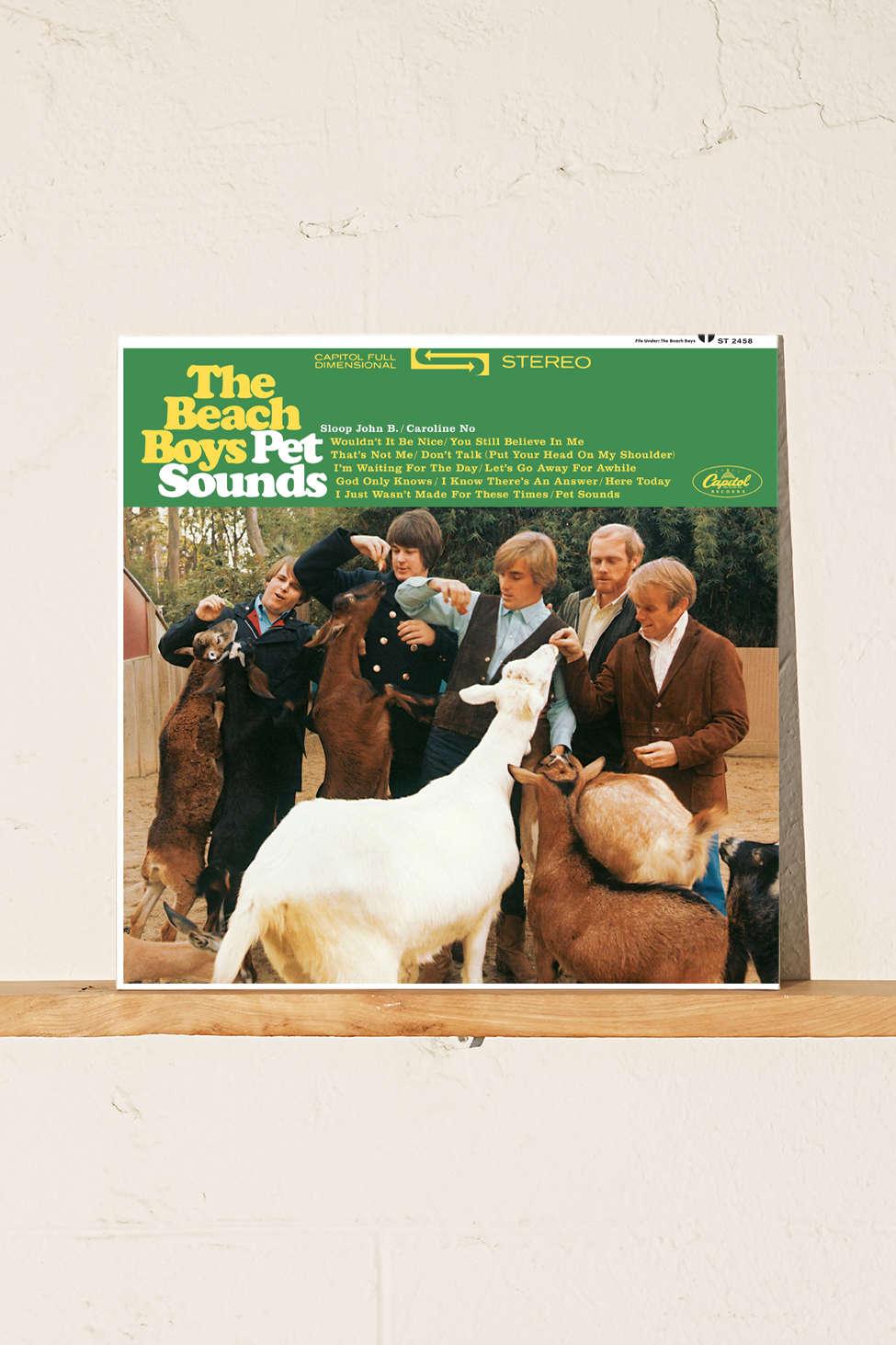 Slide View: 1: The Beach Boys - Pet Sounds LP