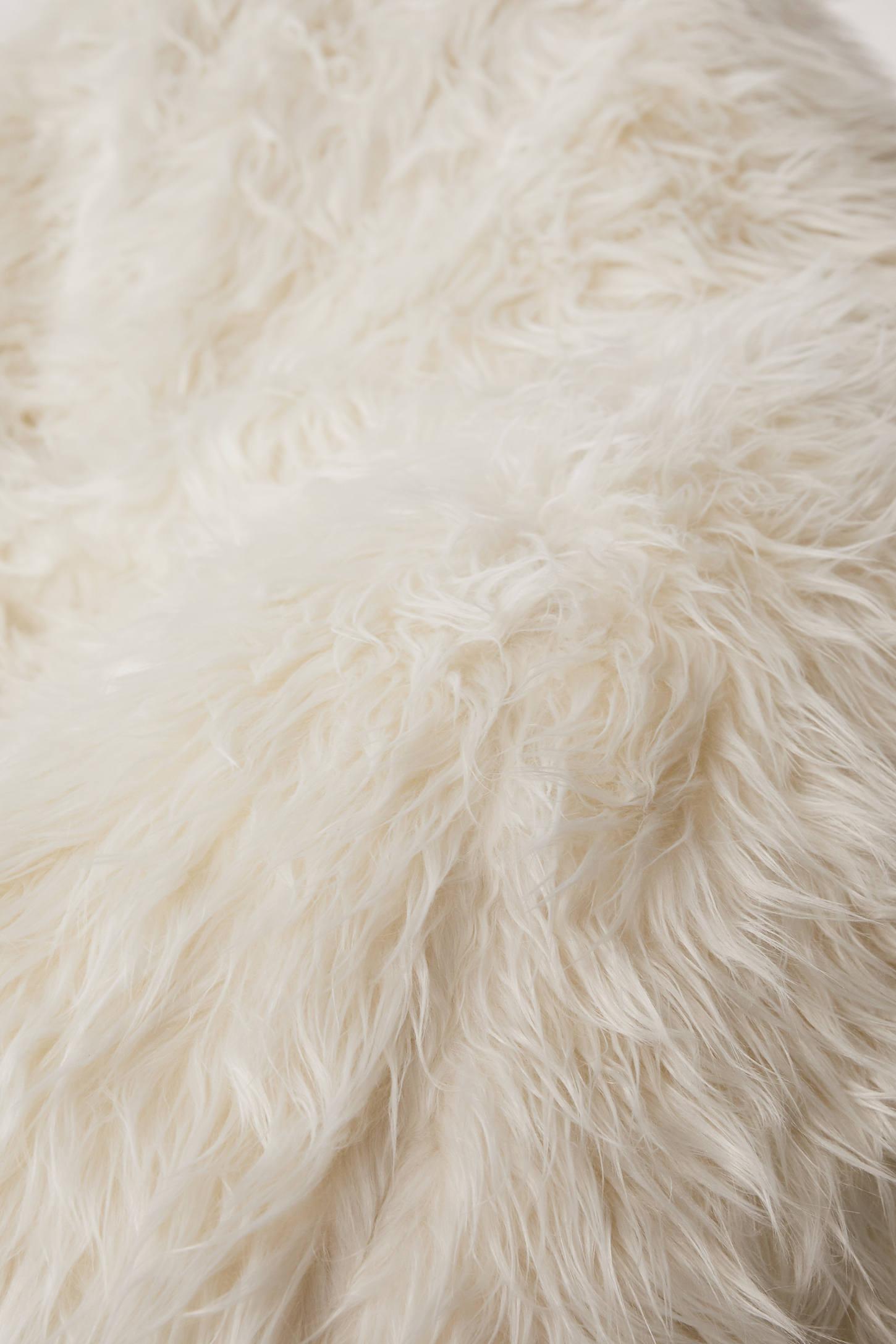 Aspyn Faux Fur Shag Bean Bag Chair