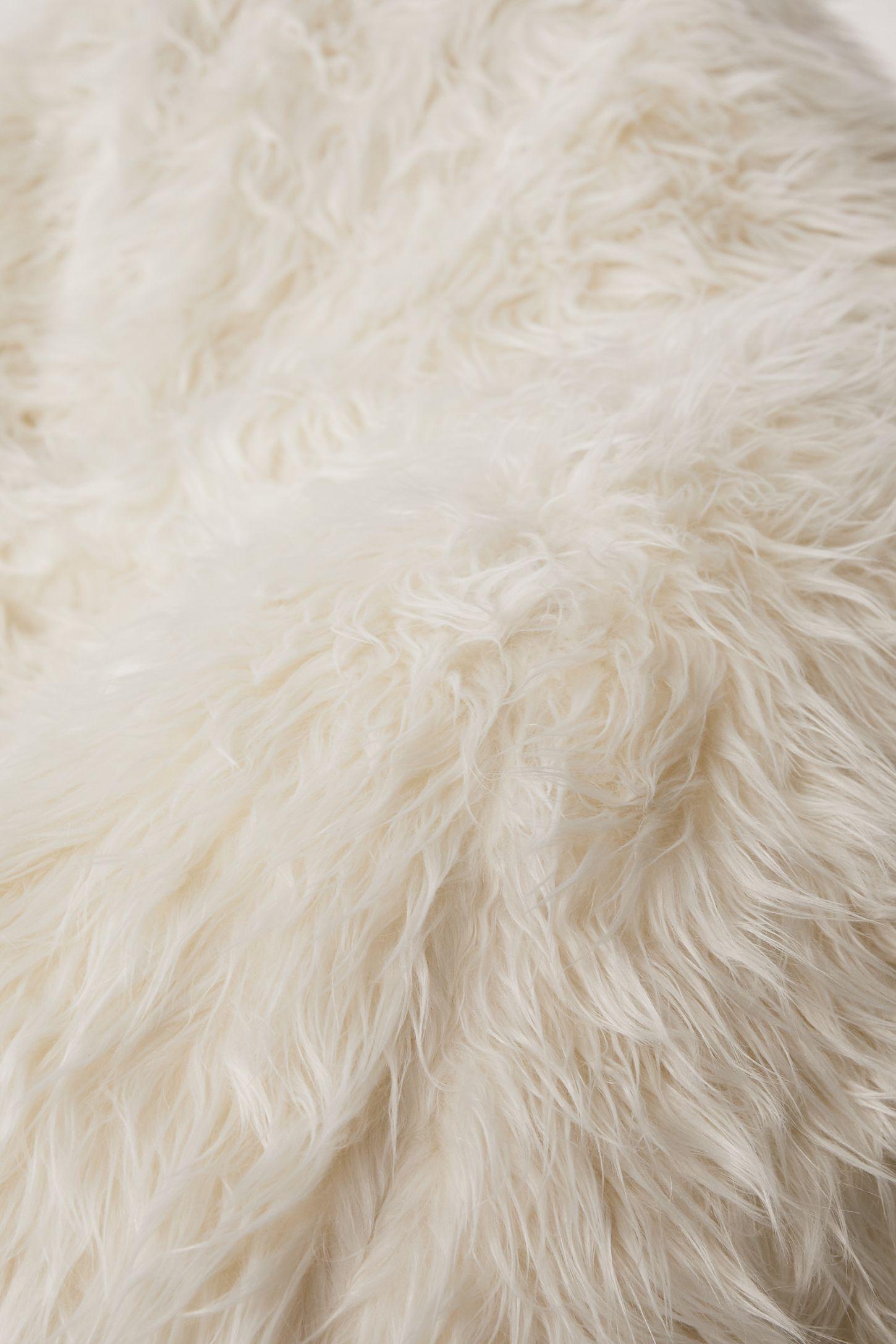 Slide View 4 Aspyn Faux Fur Shag Bean Bag Chair