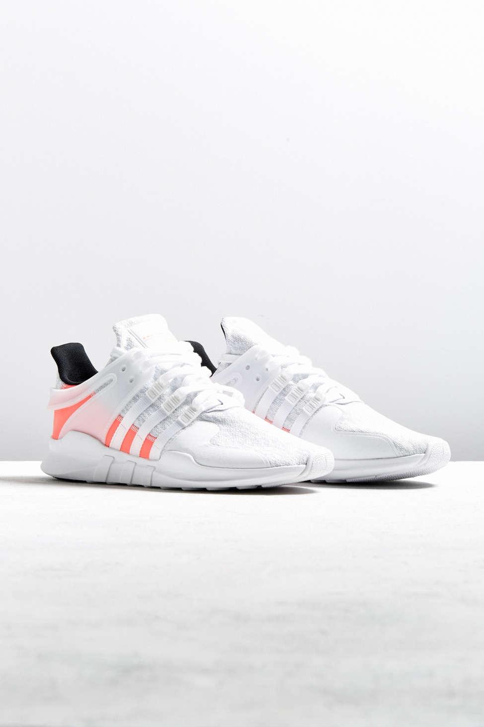 Adidas eqt appoggio avanzata scarpa bianca urban outfitters