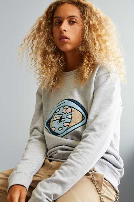 Quatre Cent Quinze Eye Crew Neck Sweatshirt