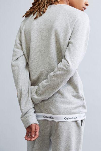 Calvin Klein Modern Cotton Lounge Crew Neck Sweatshirt