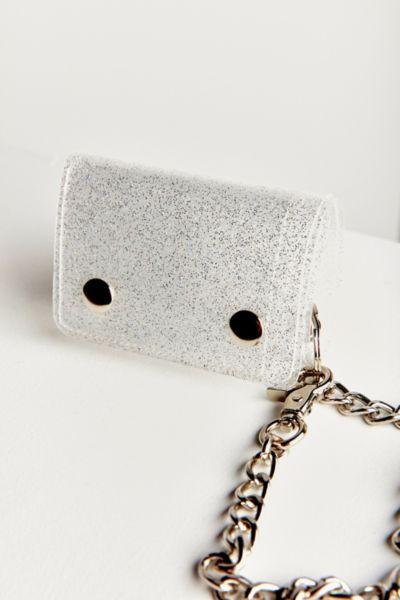 Glitter Chain Wallet