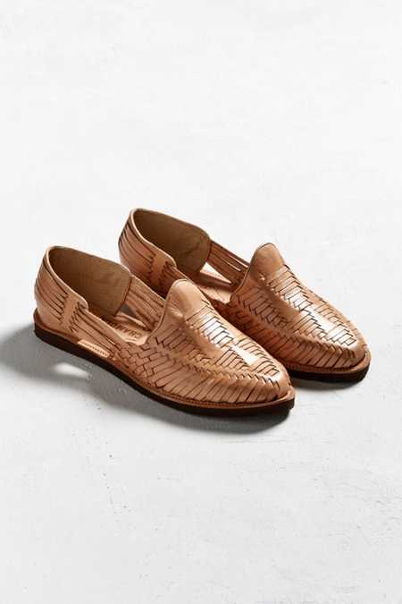 Chamula Cancun Huarache Woven Leather Shoe