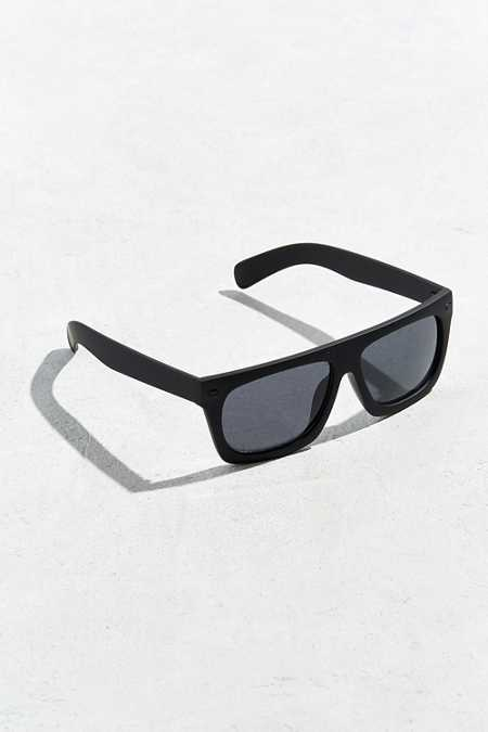 Flat Top Wide Sunglasses