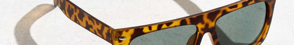 Thumbnail View 1: Flat Top Wide Sunglasses